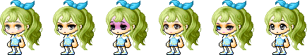 MapleStory April 22 Cash Shop Update Female Royal Faces
