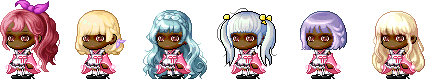 MapleStory April 22 Cash Shop Update Female Royal Hairstyles