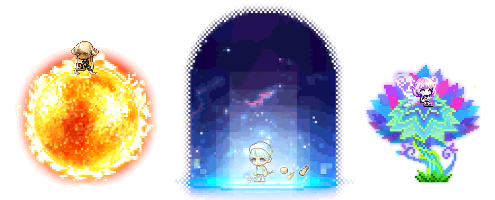 MapleStory 15th Anniversary Pixel Party