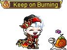 Pixel Burning Rewards MapleStory