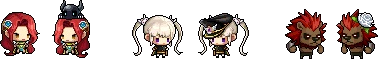 MapleStory April 29 Cash Shop Update Jr. Commander Pets