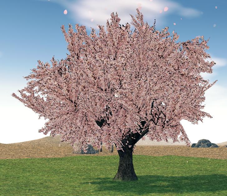 Mabinogi Homestead Harmonious Cherry Blossom Tree