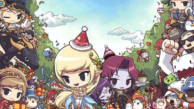 MapleStory Zoom Background Thumbnail