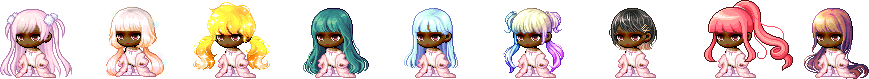 MapleStory May 6 Cash Shop Update Female Anniversary Royal Hairstyles