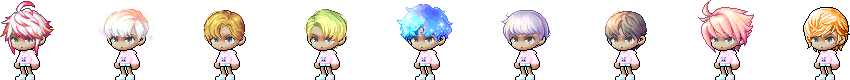 MapleStory May 6 Cash Shop Update Male Anniversary Royal Hairstyles