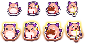 MapleStory May 6 Cash Shop Update Superstar Pink Bean Damage Skin Icon