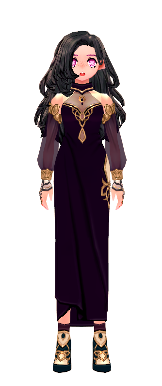 Mabinogi Elegant Lotus Dress (F)