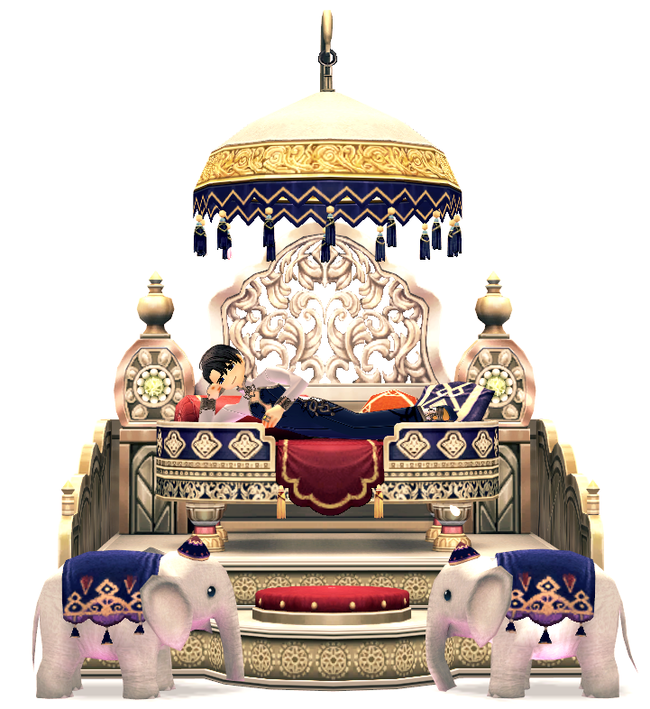 Mabinogi Elegant Lotus Elephant Throne