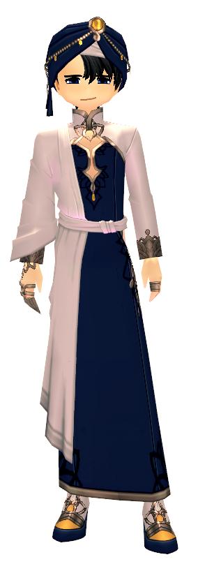 Mabinogi Elegant Lotus Shawl Suit (M)