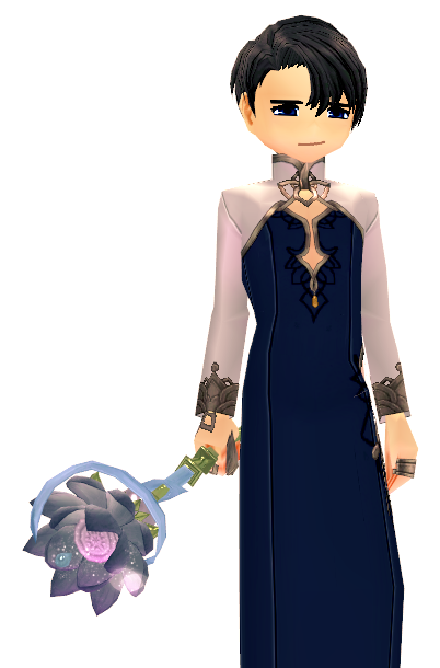 Mabinogi Elegant Lotus Wand Appearance Scroll