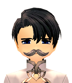 Mabinogi Gentleman's Mustache (Face Accessory Slot Exclusive)