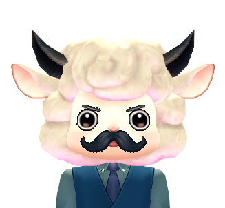 Mabinogi Conductor Sheep Mask