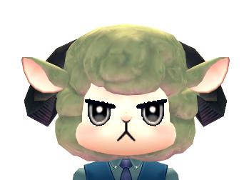 Mabinogi Gloomy Sheep Mask