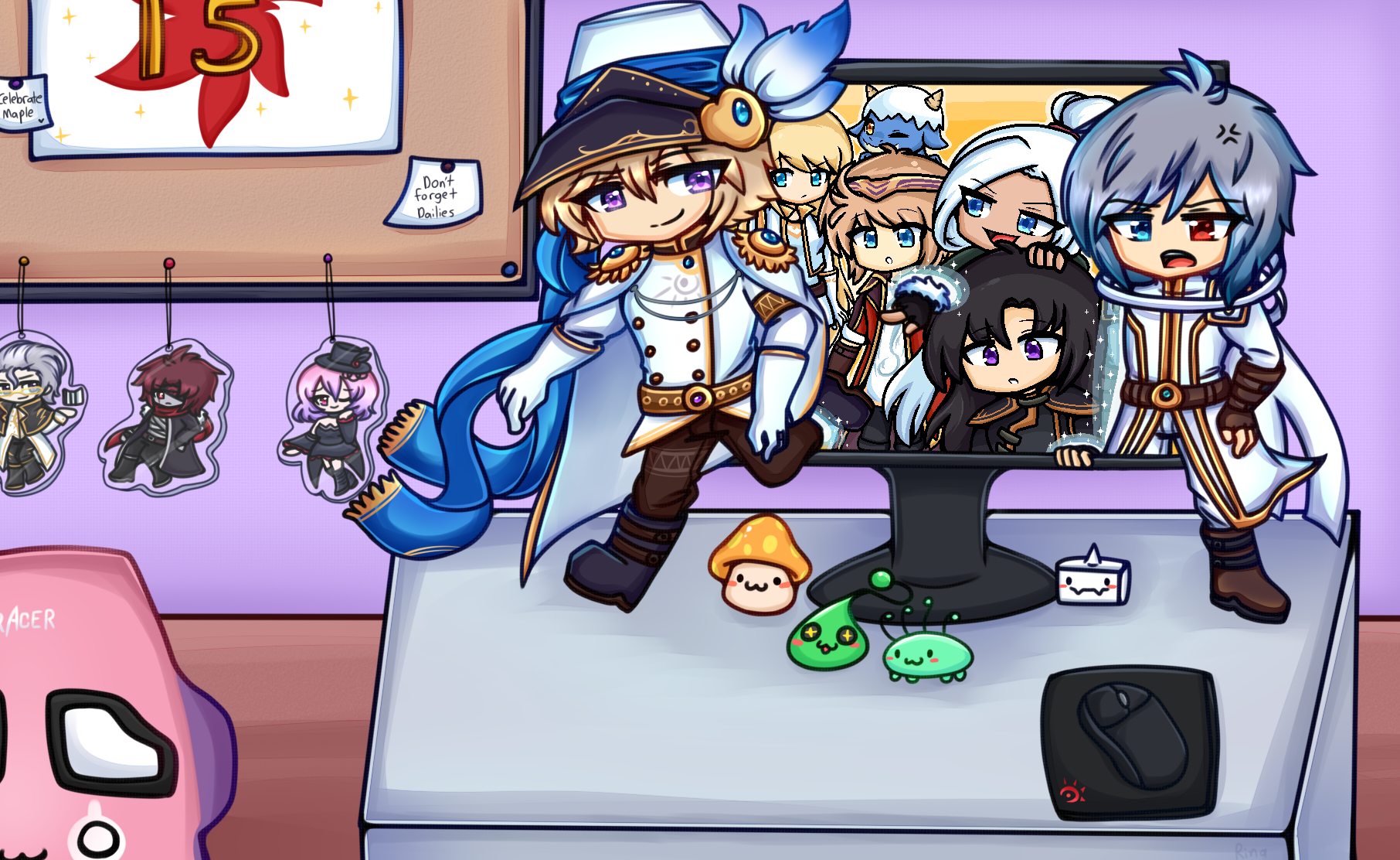 MapleStory Art Corner Art
