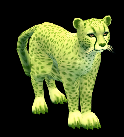 Mabinogi Green Cheetah Whistle