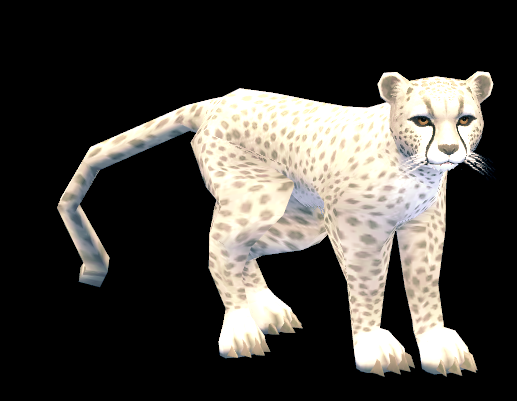 Mabinogi White Cheetah Whistle