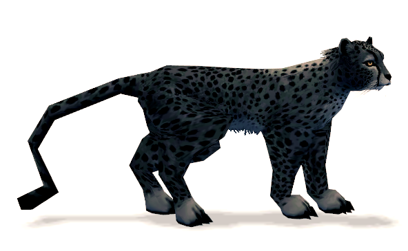 Mabinogi Charcoal Cheetah Whistle