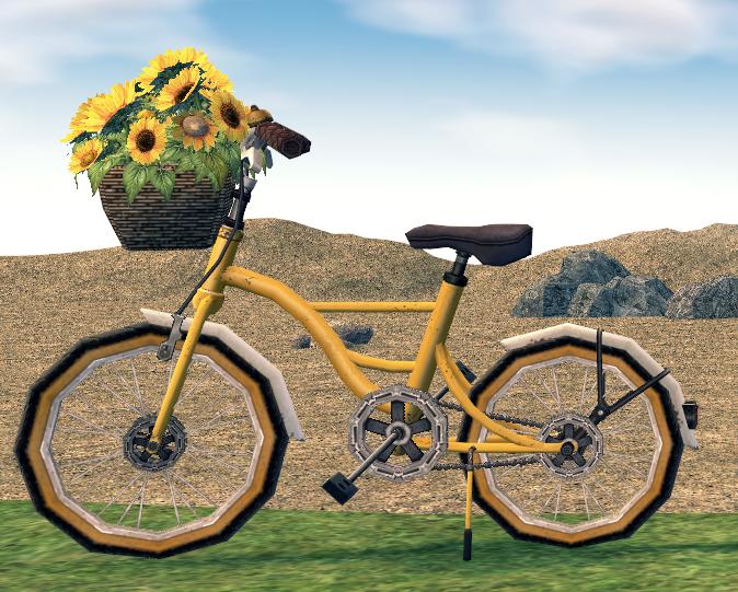 Mabinogi Homestead Sunflower Bicycle