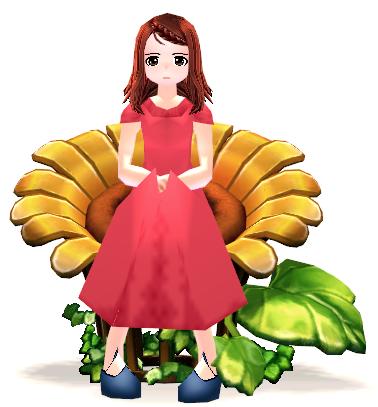 Mabinogi Sunflower Chair