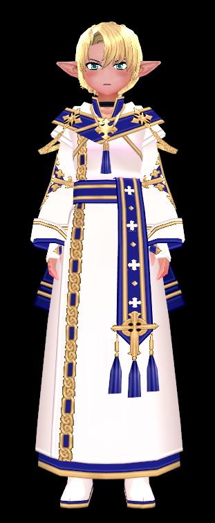 Mabinogi Eluned Sacred Light Coat (F)