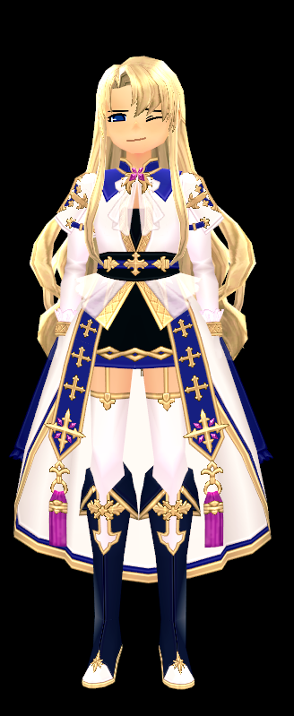 Mabinogi Eluned Sacred Light Dress (M)