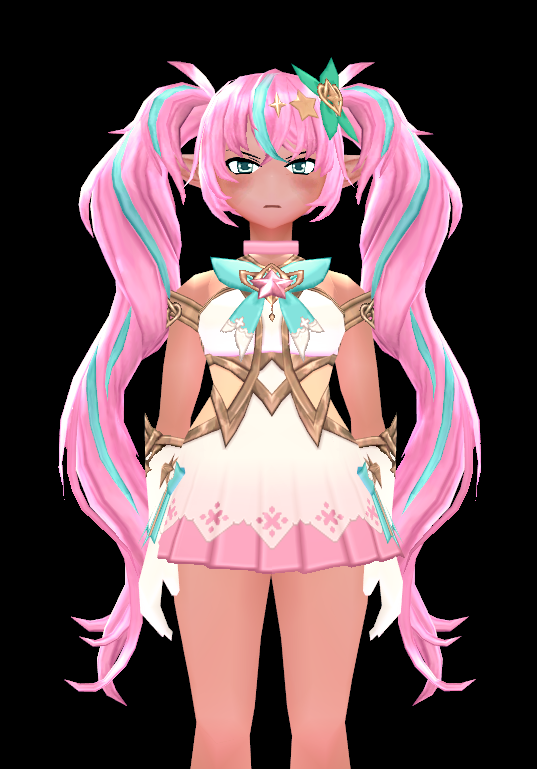 Mabinogi Magical Blitz Hairpin and Wig (F)