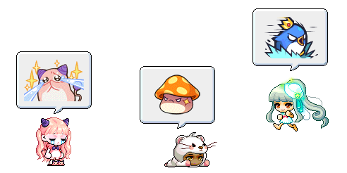 MapleStory Rise: Promise of the Guardian Chat Emoticon