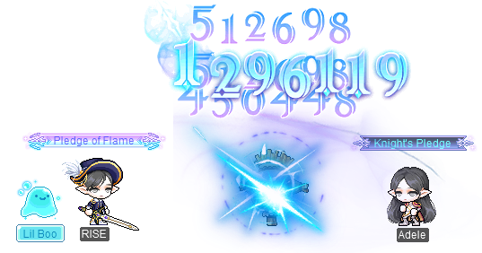 MapleStory Rise: Promise of the Guardian Adele Training Support Event