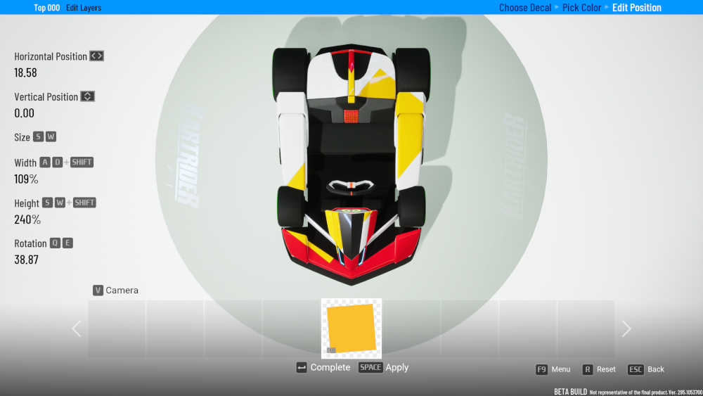 KartRider Drift Decal FAQ