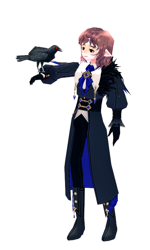 Mabinogi Special Crow Feather Suit (M)