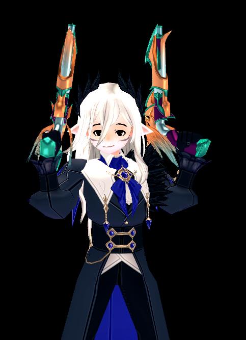 Mabinogi Crow Dual Gun Appearance Scroll