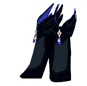 Mabinogi Crow Feather Boots (F)