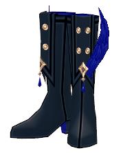 Mabinogi Crow Feather Boots (M)