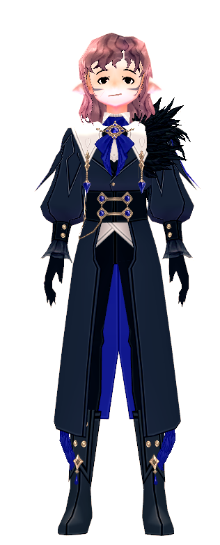 Mabinogi Crow Feather Suit (M)