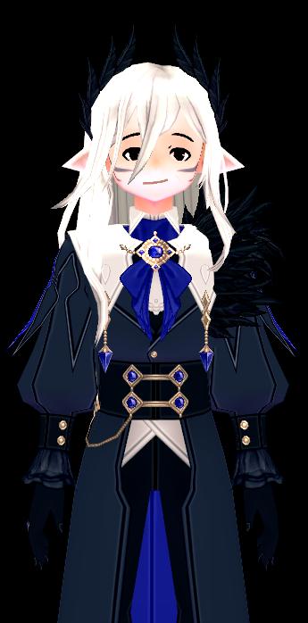 Mabinogi Magical Blitz Goggles and Wig (M)