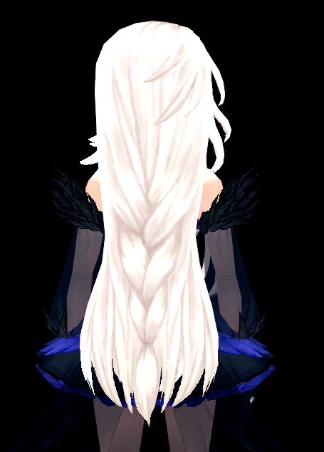 Mabinogi Crow Feather Wig (F)