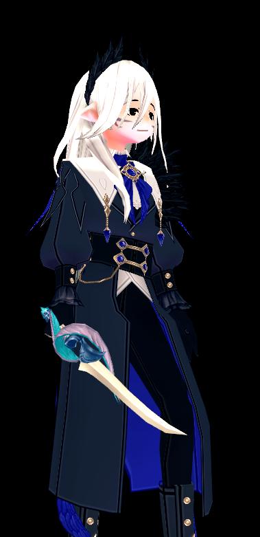 Mabinogi Crow Sword Appearance Scroll