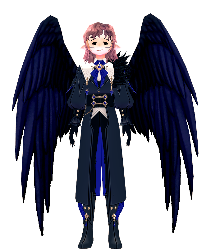Mabinogi Dynamic Raven Wings