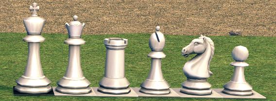 Mabinogi Homestead White Chess Piece Package Box