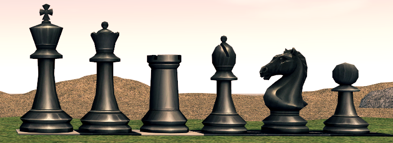 Mabinogi Homestead Black Chess Piece Package Box