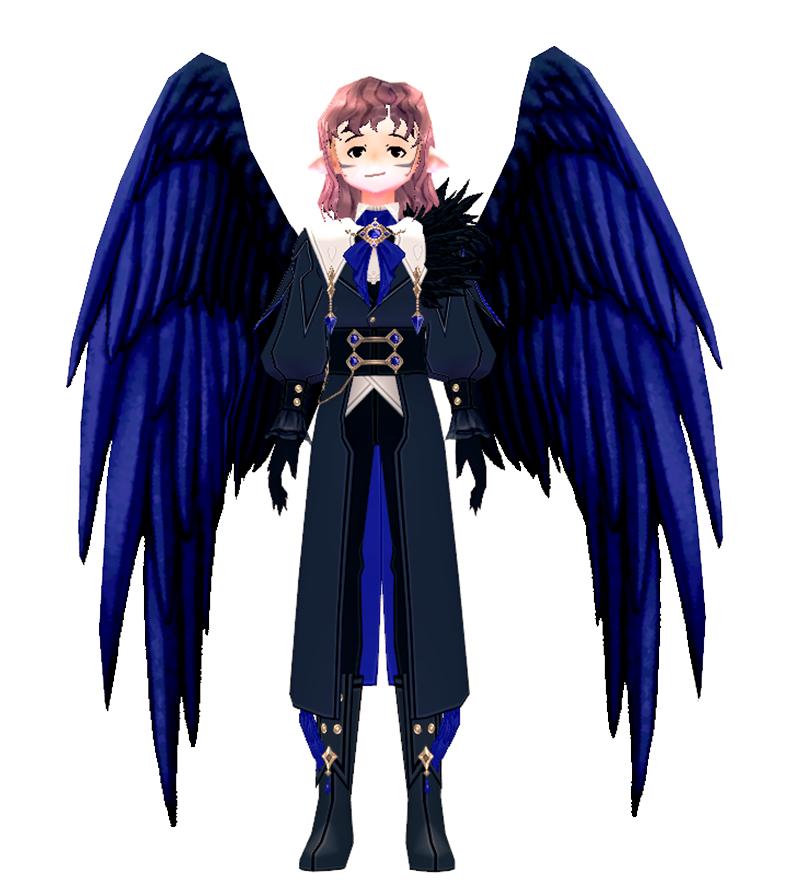 Mabinogi Midnight Raven Wings