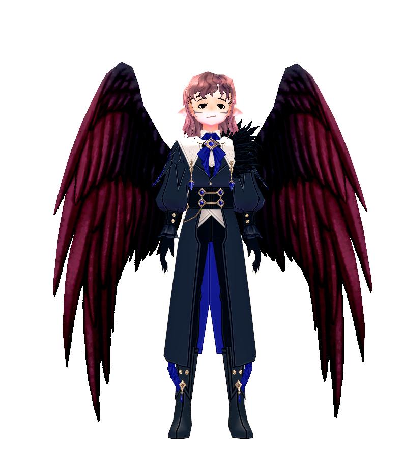 Mabinogi Abyssal Raven Wings