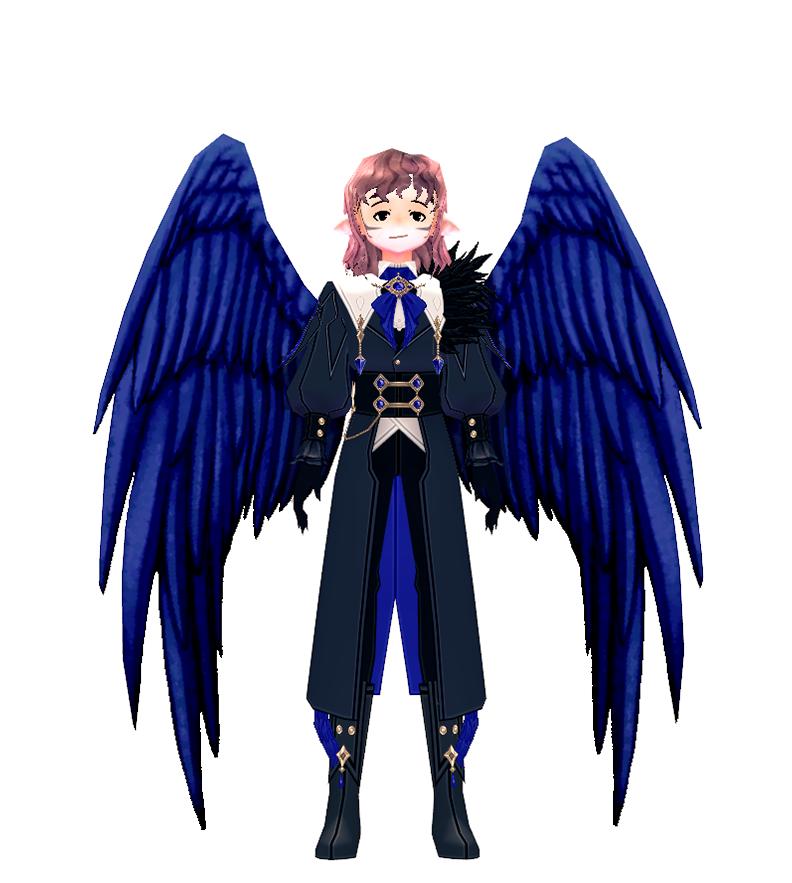 Mabinogi Dynamic Crow Wings