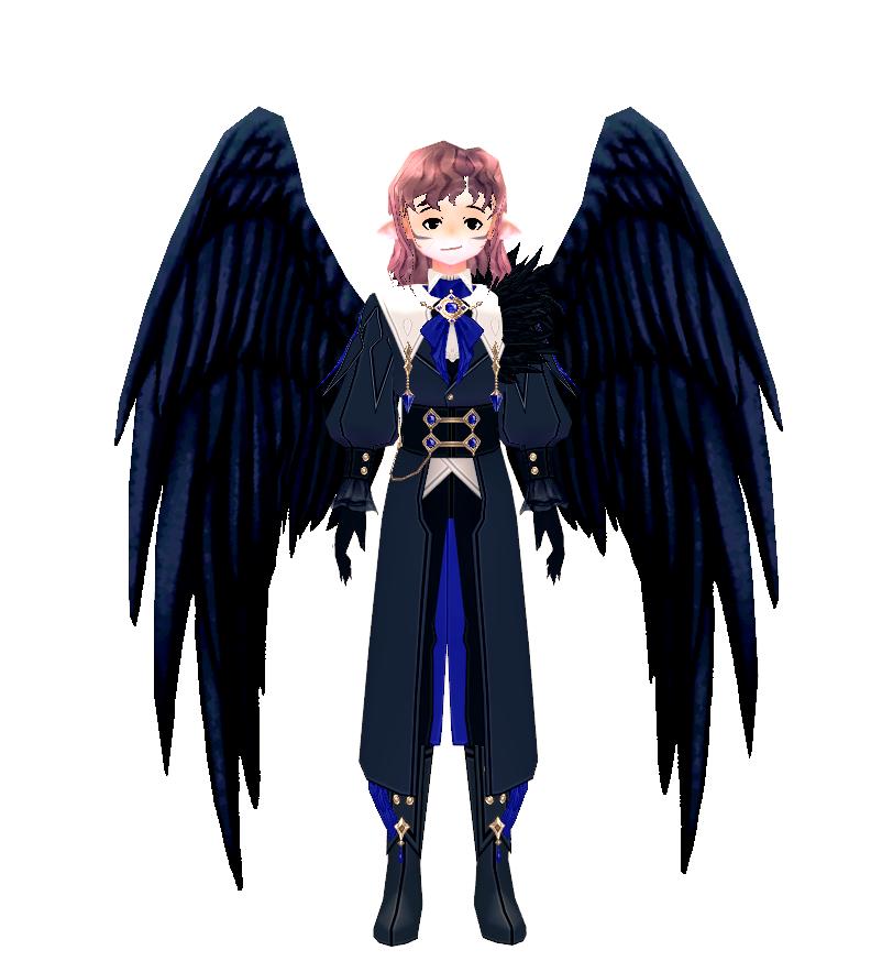 Mabinogi Midnight Crow Wings