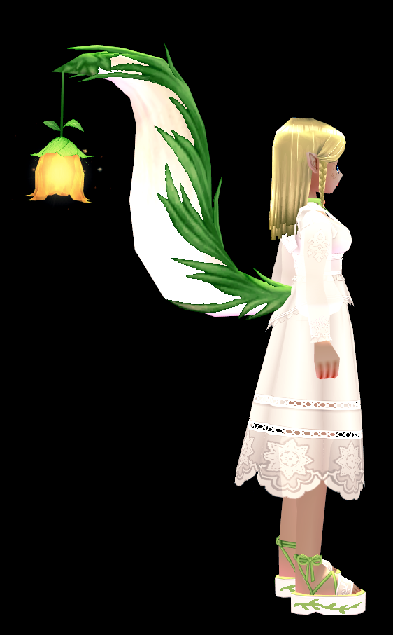 Mabinogi Luminous Petal Tail