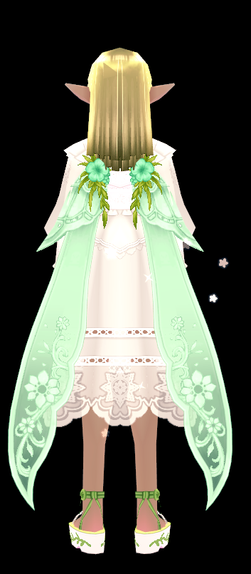 Mabinogi Refreshing Secret Garden Wings (Enchantable)
