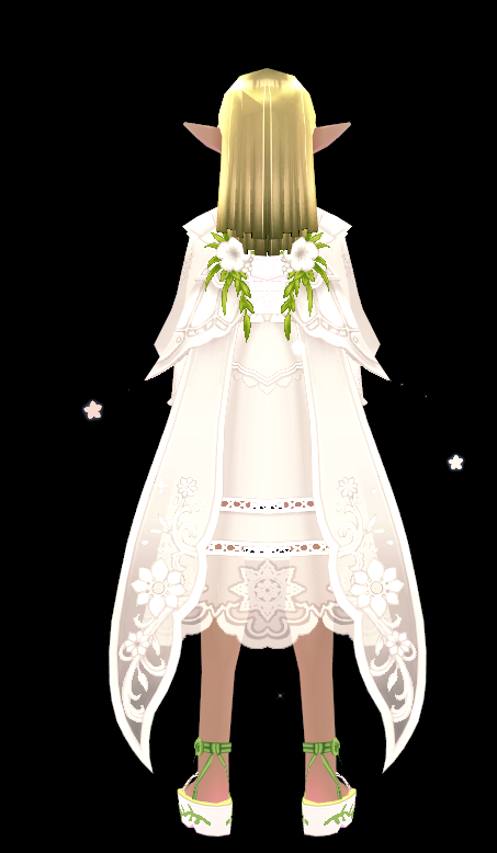 Mabinogi Pure Secret Garden Wings (Enchantable)