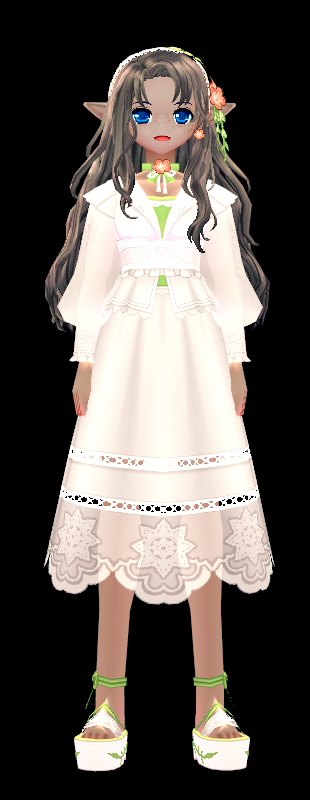 Mabinogi Secret Garden Dress (F)