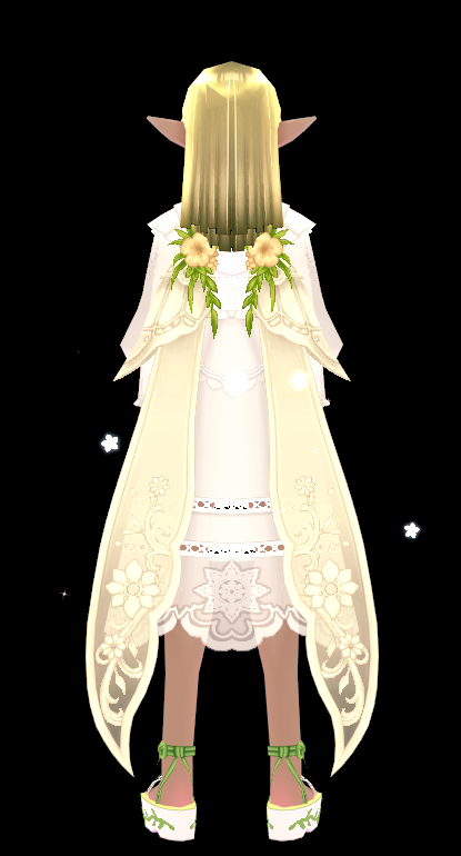 Mabinogi Warm Secret Garden Wings (Enchantable)