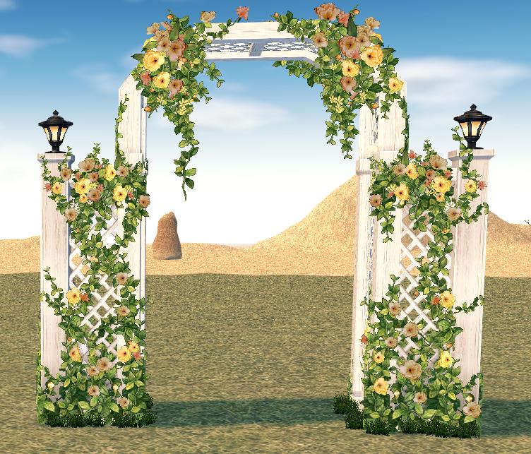 Mabinogi Homestead Secret Garden Gate